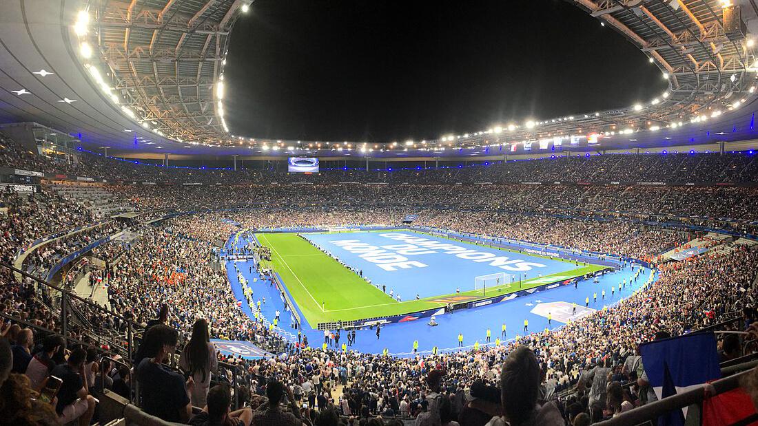 Världens största fotbollsarena